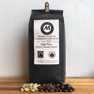 Decaf water process fairtrade organic coffee