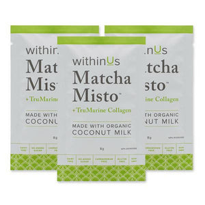 withinUs - Matcha Misto + Collagen