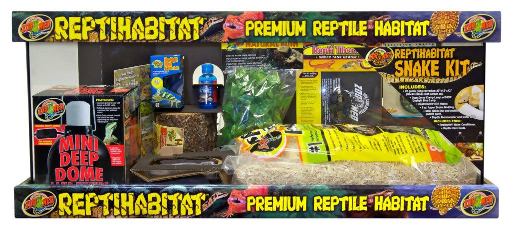 ReptiHabitat™ Snake Kit Zoo Med, 20 Gallon