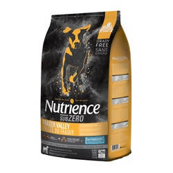Nutrience Grain Free Subzero for Dogs - Fraser Valley - 10 kg (22 lbs)
