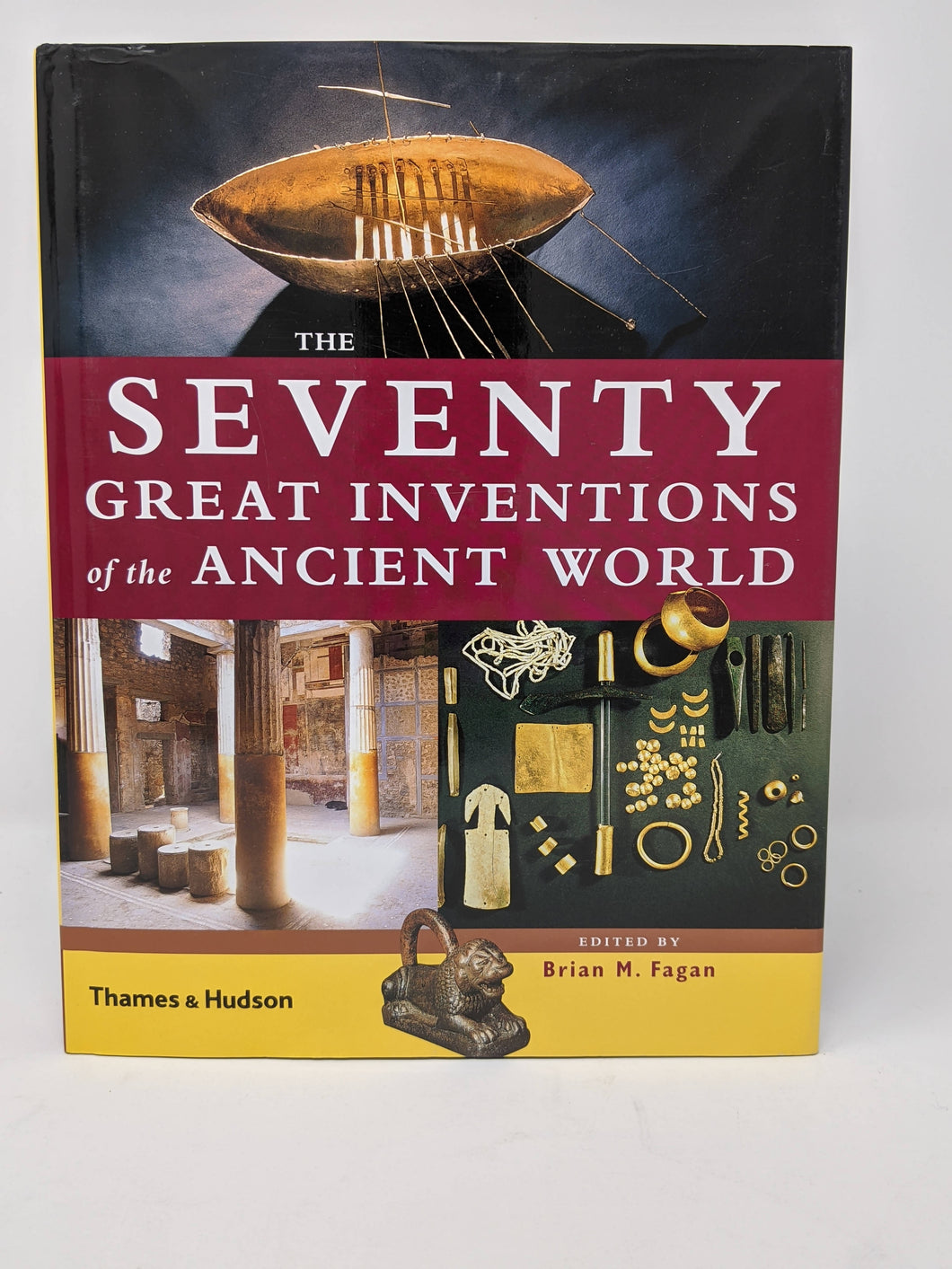 SALE The Seventy Great Inventions of the Ancient World edited by Brian M. Fagan