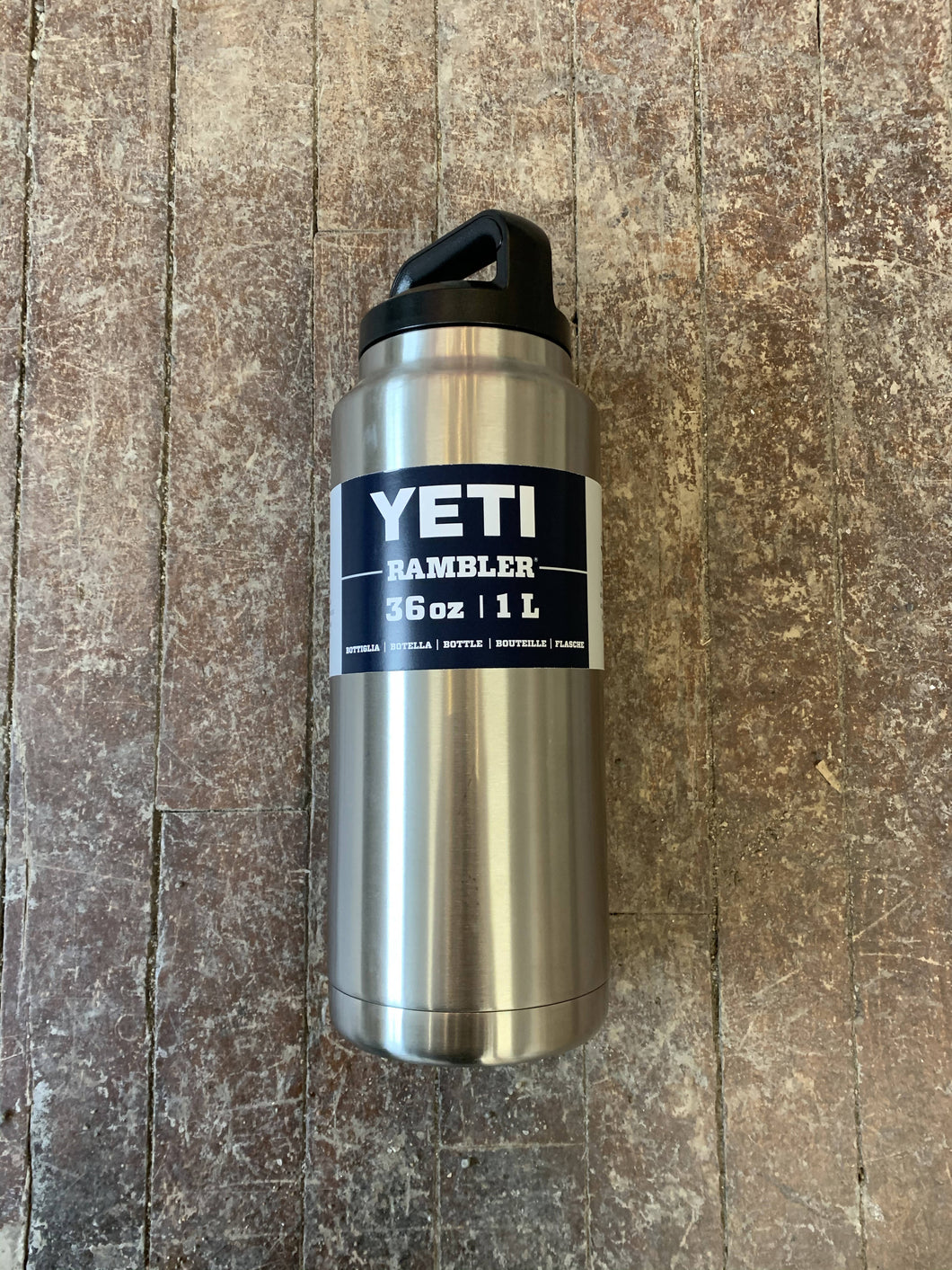 Yeti 36oz Rambler Bottle with Chug Cap Stainless Steel