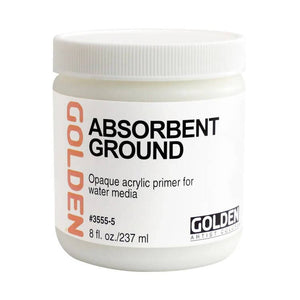 Golden Absorbent Ground (Watercolour Canvas Primer)