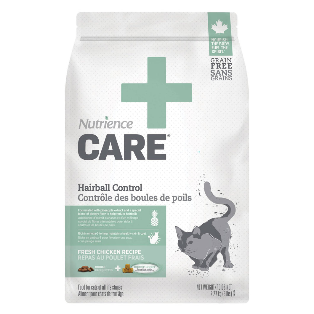 Nutrience Care® Hairball Control Adult Cat Food 2.27KG