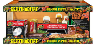 ReptiHabitat™ Bearded Dragon Kit Zoo Med, 20 Gallon