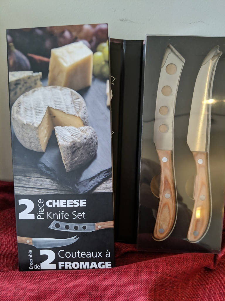 2 Piece Cheese Knife Set