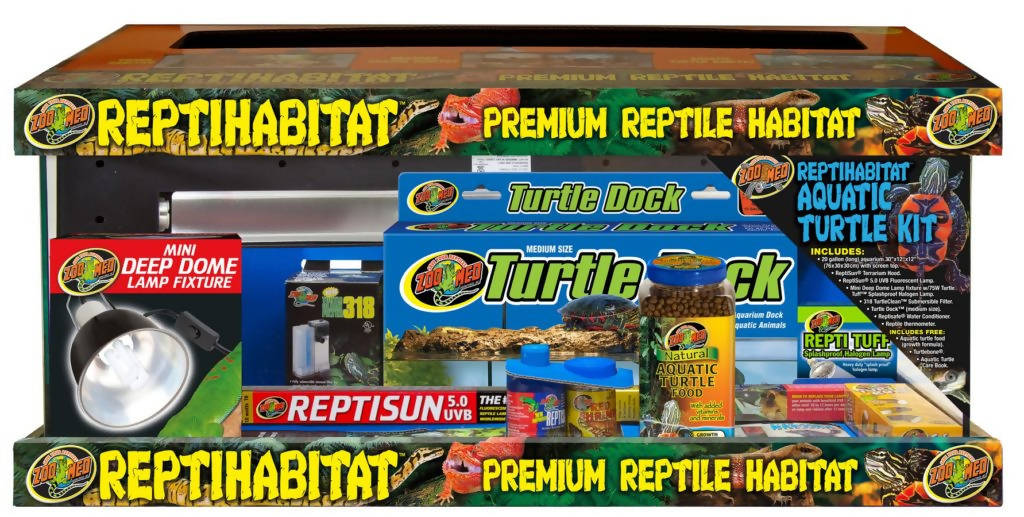 20 Gallon ReptiHabitat™ Aquatic Turtle Kit Zoo Med