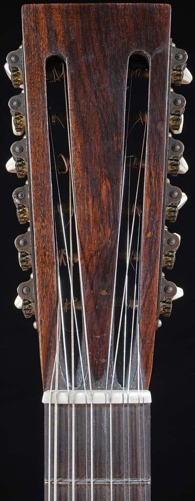 Circa 1910s-1920s Harp Guitar Conversion