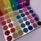 """Shades of Krayons"" 35 Color Eyeshadow Palette"