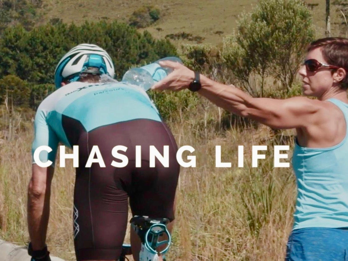 Chasing Life: following Team Livesey through extreme triathlon