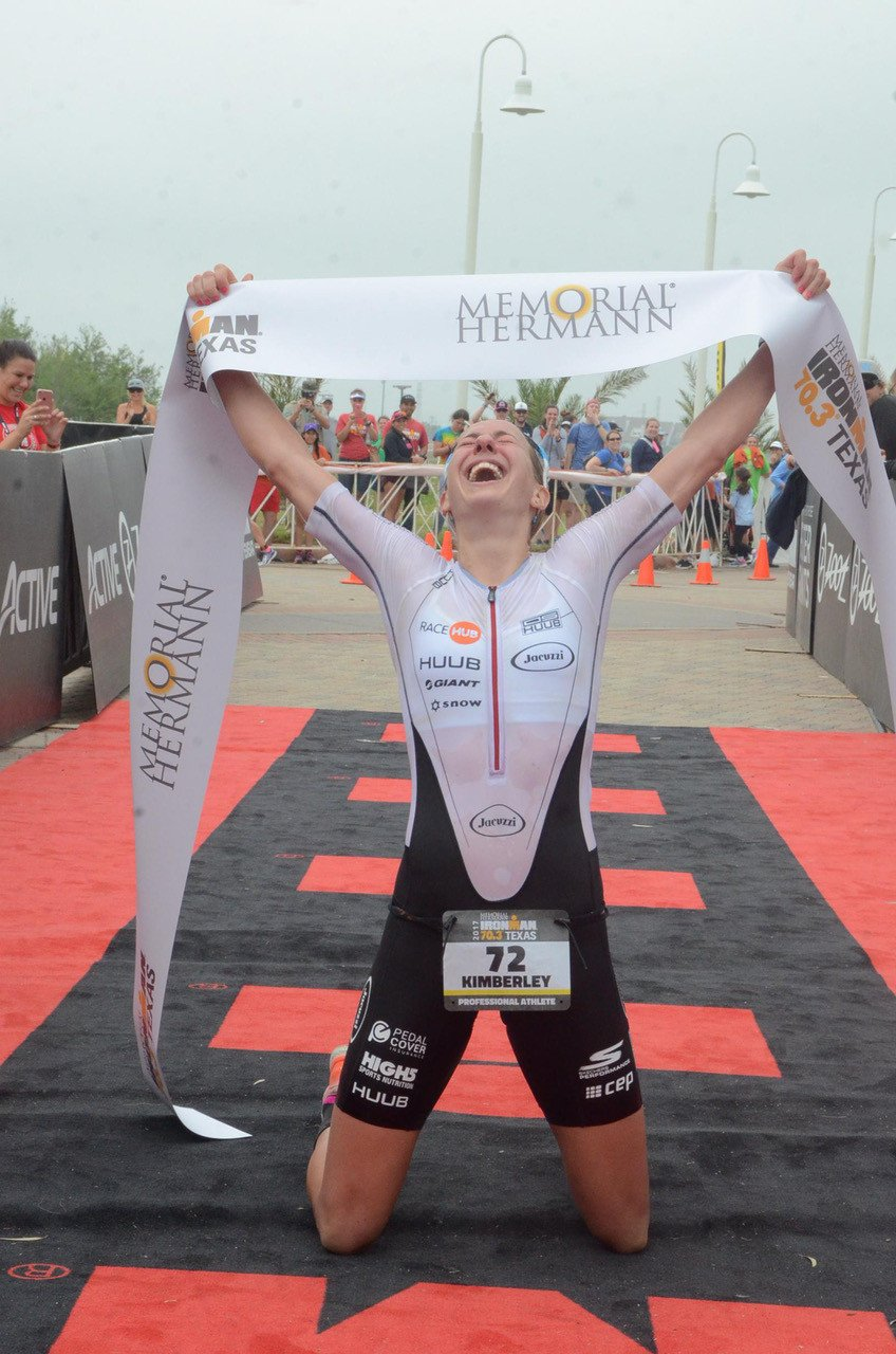 Our newest Parcours athlete - Kimberley Morrison, multiple Ironman 70.3 champion