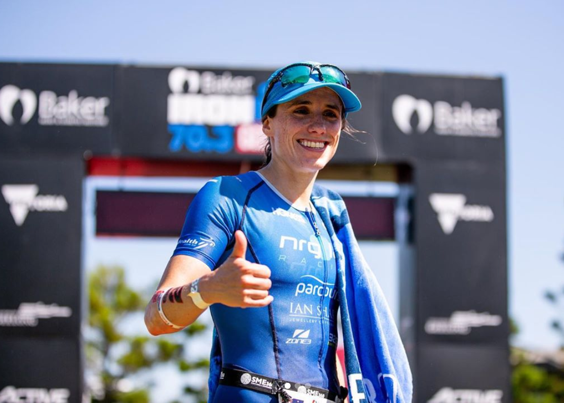 Lockdown diaries - get bike fit with pro triathlete Grace Thek