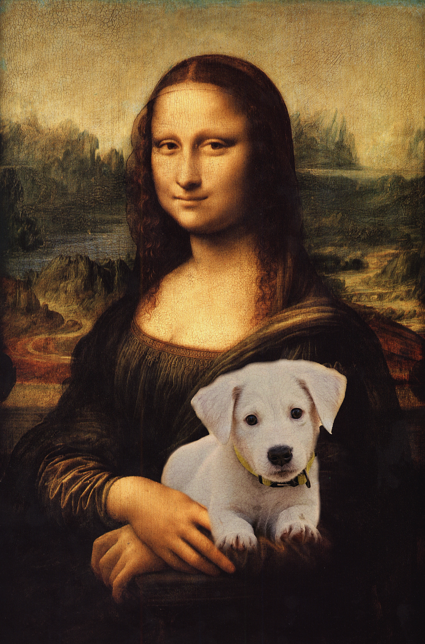 Custom Royal Portraits MONA LISA'S PET | CUSTOM PET PORTRAIT | REGAL PAWTRAITS - Regal Pawtraits