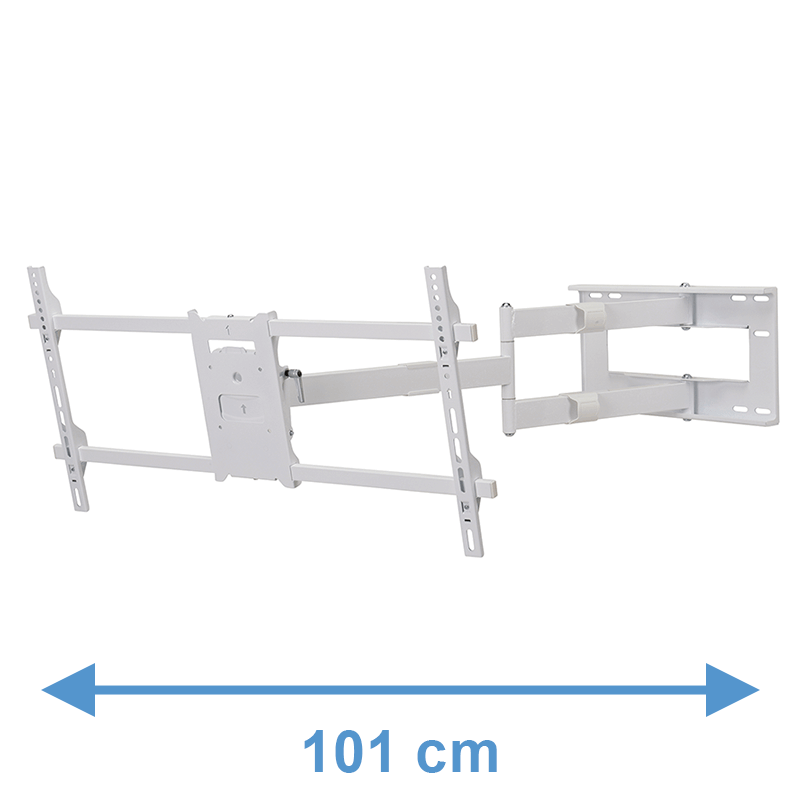 Second Chance - DQ Reach XXL 101 cm White TV Mount