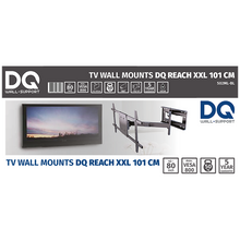 Load image into Gallery viewer, DQ Reach XXL 101 cm Black TV Mount
