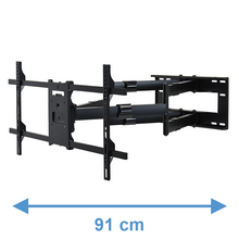 Load image into Gallery viewer, Second Chance - DQ Reach XXL 91 cm Black TV Mount