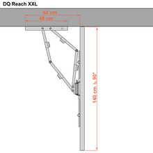 Load image into Gallery viewer, DQ Reach XXL 91 cm White TV Wall Mount