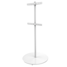Load image into Gallery viewer, XTRARM Arius TV floorstand white