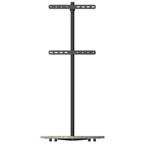 XTRARM Arius TV floorstand grey wood print