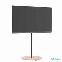 Load image into Gallery viewer, XTRARM Arius TV floorstand solid wooden base