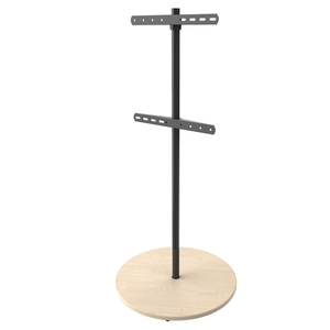 XTRARM Arius TV floorstand solid wooden base