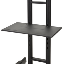 Load image into Gallery viewer, DQ CT-FT TV Floorstand Black