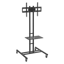 Load image into Gallery viewer, DQ T131 L TV Floorstand Black