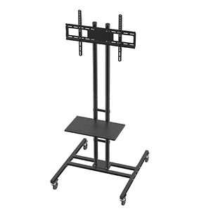 DQ T131 L TV Floorstand Black