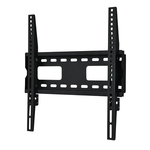DQ Anna Fixed 400 Black TV Wall Bracket