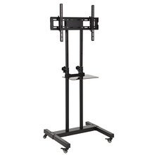 Load image into Gallery viewer, DQ Hestia 600 TV Floorstand Black