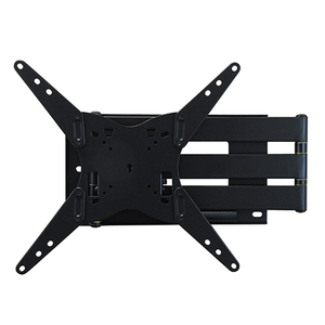 DQ Hercules Rotate 400 77 cm Black TV Wall Bracket