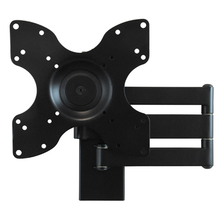 Load image into Gallery viewer, DQ Rotate Triple L Black TV Wall Bracket