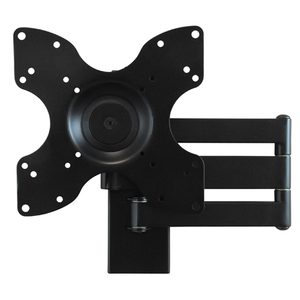DQ Rotate Triple L Black TV Wall Bracket