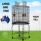 Bird Cage Pet Cages Aviary 145CM Large Travel Stand Budgie Parrot Toys
