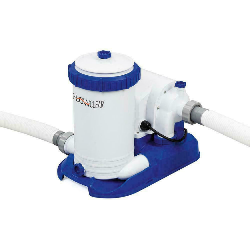 Bestway 2500 GPH Filter Pump Swimming Pool Cleaner