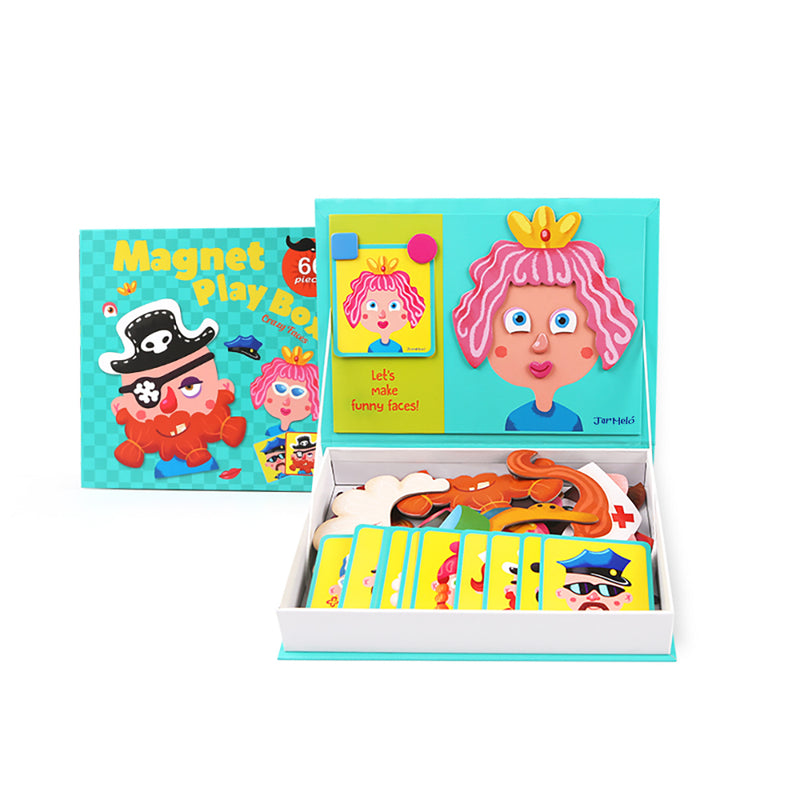 MAGNET PLAY BOX - CRAZY FACES
