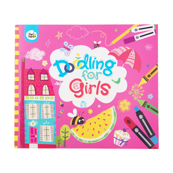 DOODLING BOOK FOR GIRLS