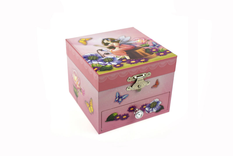 FAIRY SQUARE MUSIC BOX