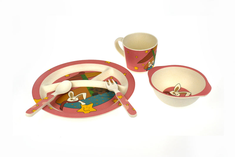 BAMBOOZOO DINNERWARESTARRABBIT