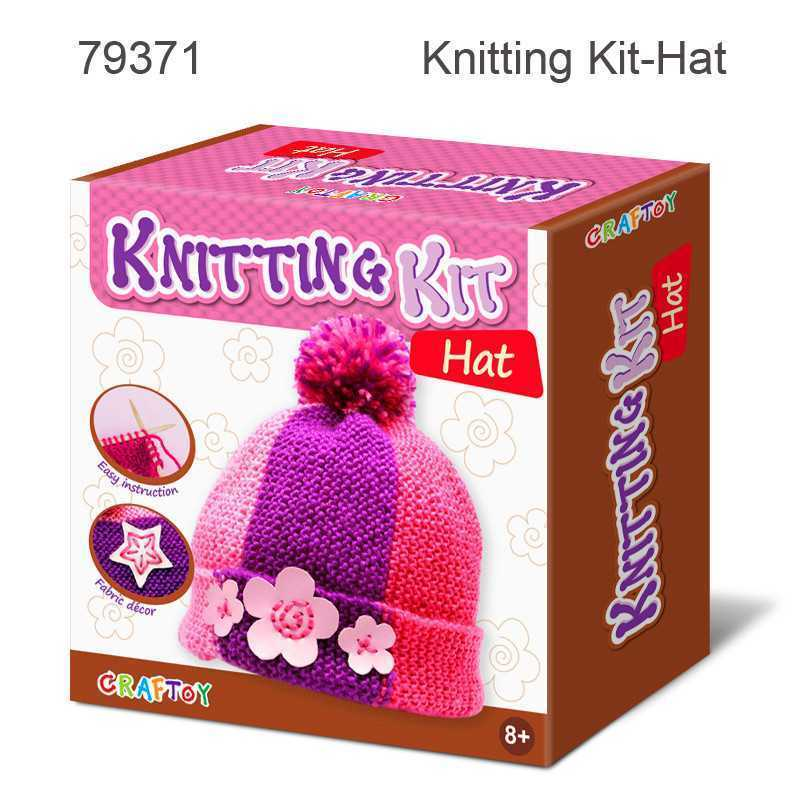 HAT KNITTING KIT