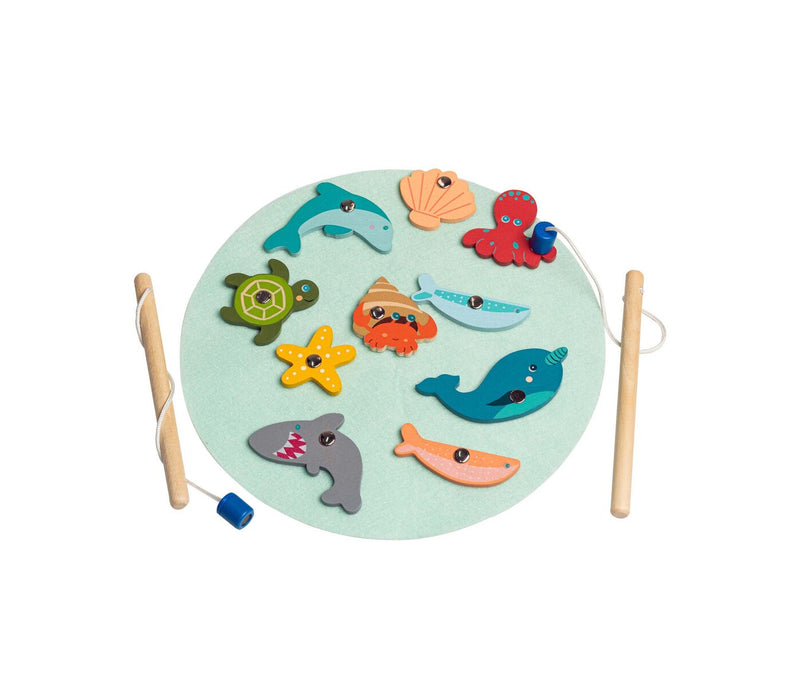 CALM & BREEZY WOODEN FISHING GAME