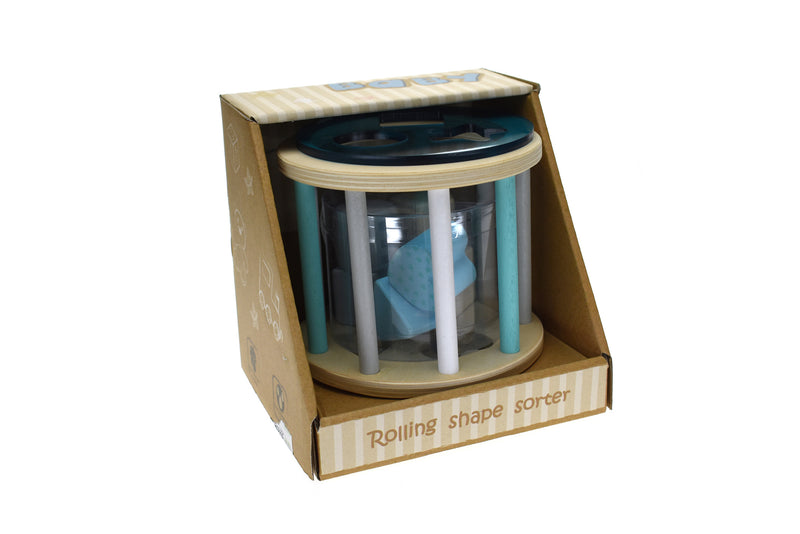 CALM & BREEZY ROLLING SHAPE SORTER BLUE