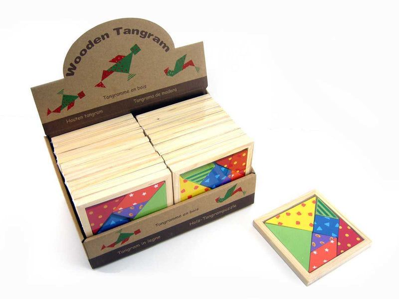 PRICE FOR ONE PATTERNED TANGRAM PUZZLE