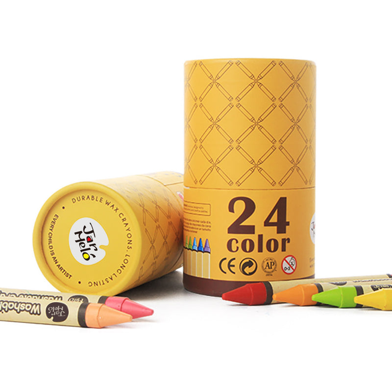 WASHABLE CRAYONS -24 COLORS