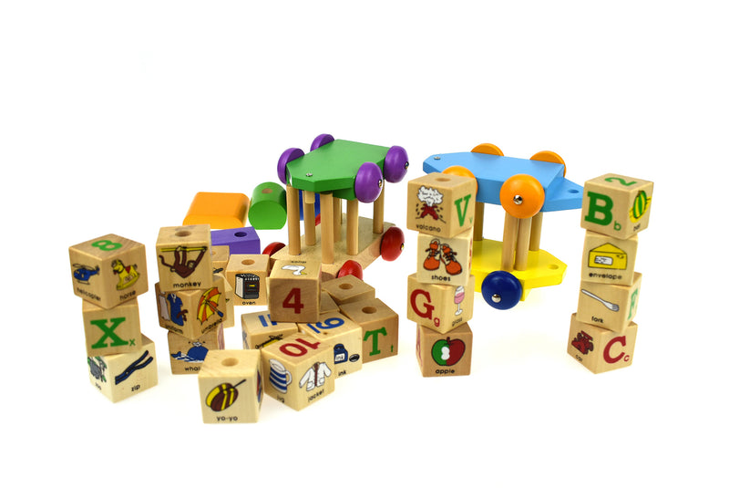 SPIN ABC BLOCK TRAIN