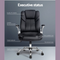 Artiss Office Chair Gaming Executive Computer Chairs Leather Seating Black