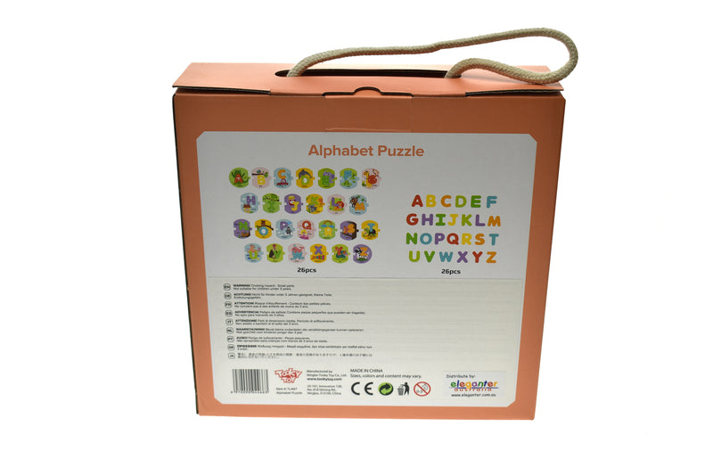 ALPHABET PUZZLE IN CARRY BOX