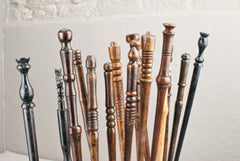 Each of our real wood wands are completely unique and handmade in England