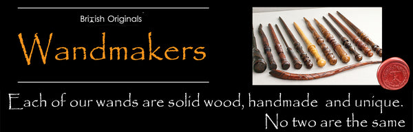 Real wood magic wands for sale, calling harry potter fans, witches, wizards and muggles