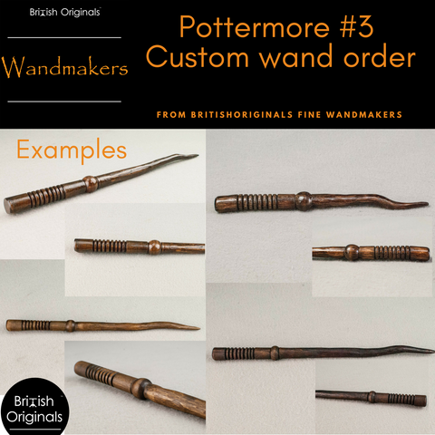 Pottermore custom order wand